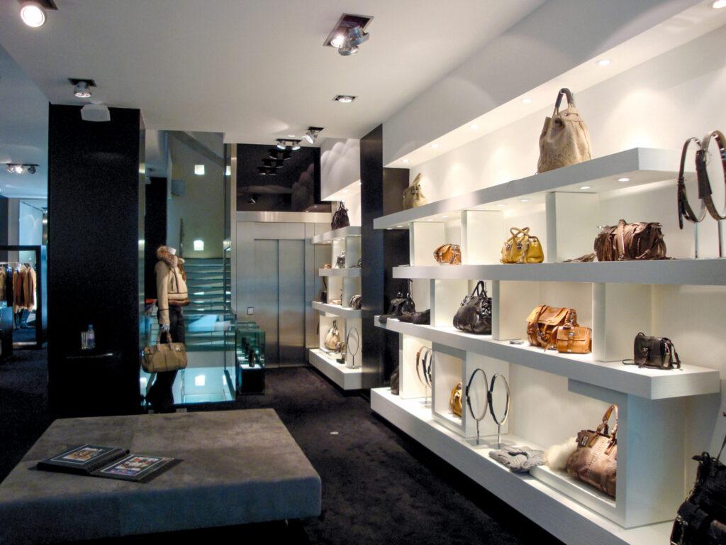 Rénovation des boutiques parisiennes Barbara Bui - <span class='a3dc'>a<span>3</span>dc </span> - atelier 3d Couleur