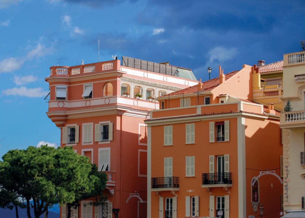 Façade de laPrincipauté de Monaco