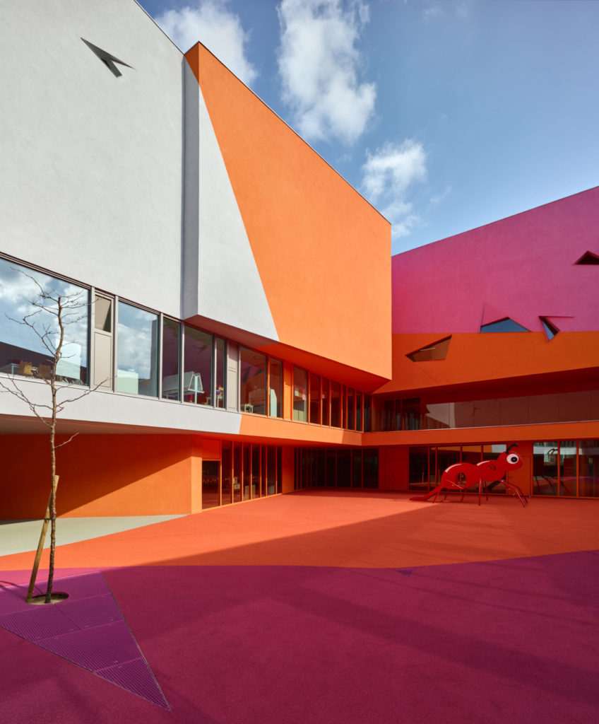 Projet couleur A3DC - Groupe scolaire Marine, Colombes