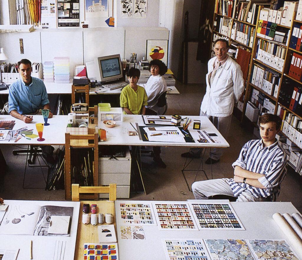 Photo atelier 3D couleur Lenclos A3DC La premiere agence de design couleur en France